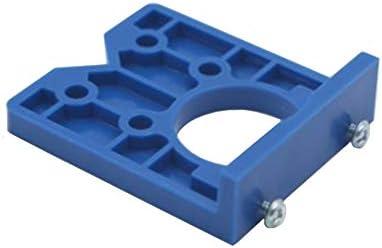 Fssh-MLX 35ミリメートルヒンジジグプラスチック穴あけガイドロケータオープナーテンプレートドアキャビネットDIYツールの木工木材大工ドリル (色 : A1)