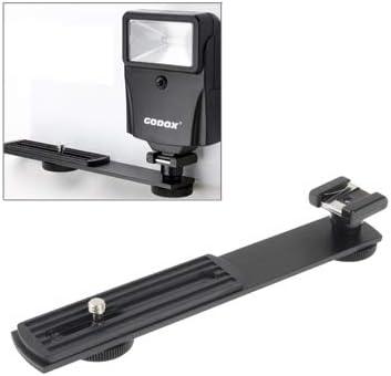 Metal Flash Bracket for DSLR Camera Durable Black