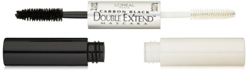 L'Oreal Paris Double Extend Mascara, Carbon Black, 0.33 Ounces (L Oreal Double Extend Eye Illuminator Mascara)