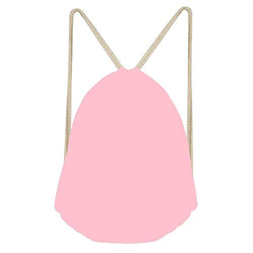 Bubble Gum Camo - Bubble Gum Drawstring Backpack,Drawstring Bag Lightweight Personalized Fashion Design Durable Bag