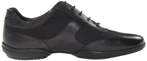 Geox Uomo City - Zapatos de cordones Negro