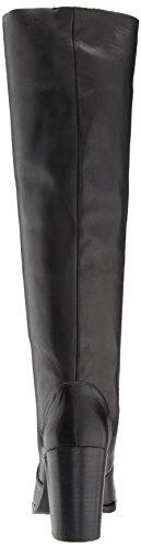 Steve Madden Women's Remi Over The Knee Boot Black Leather QUfKBp9