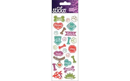 Sticko Dog Stickers - Dog Scrapbooking Stickers