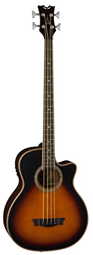 Dean EABCS TSB 4-String Acoustic-Electric Bass Guitar by Dean