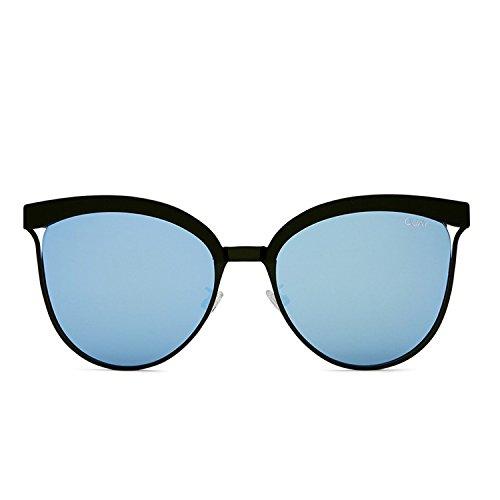 Quay Australia STARDUST Women's Sunglasses Cat Eye and Mirrored Lenses - Sunglasses Mens Australia