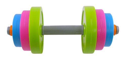 Baby Barbell - Liberty Imports Adjustable Dumbbell Toy Set for Kids - Fill with Beach Sand or Water!