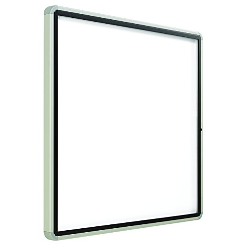 Quartet Enclosed Magnetic Whiteboard, Outdoor, 38