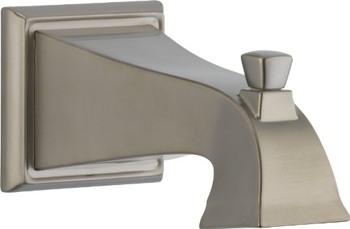 Delta RP52148SS Dryden Tub Spout - Pull-Up Diverter, Stainless by DELTA FAUCET