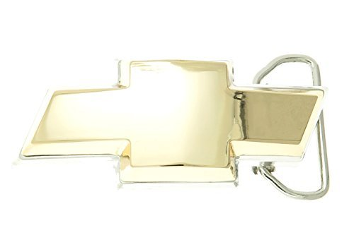 Chevy Emblem Gold Plated Belt Buckle