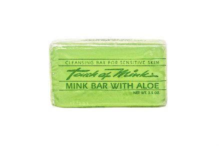 Aloe Vera Transparent Cleansing Bar - 12 Bars - Touch of Mink