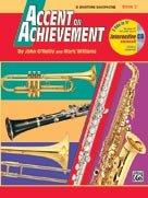 Accent on Achievement - Book 2 - Eb Baritone Saxophone - Beginning - Bk+CD