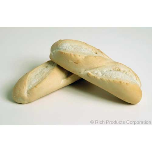 Rich Products Pra Baked Mini Baguette Bread, 6 Ounce -- 48 per case. by Rich Products Corporation