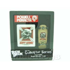 Tech Deck Collector Series - (Tony Hawk - Skull- Powell Peralta 1983) 96mm Skateboard