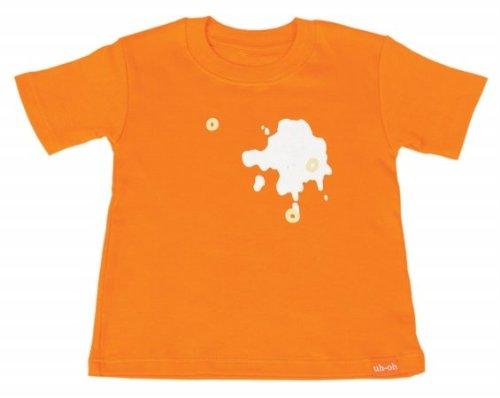 The Messy Line Orange Cereal Slide Top Shirt Size 3T Color