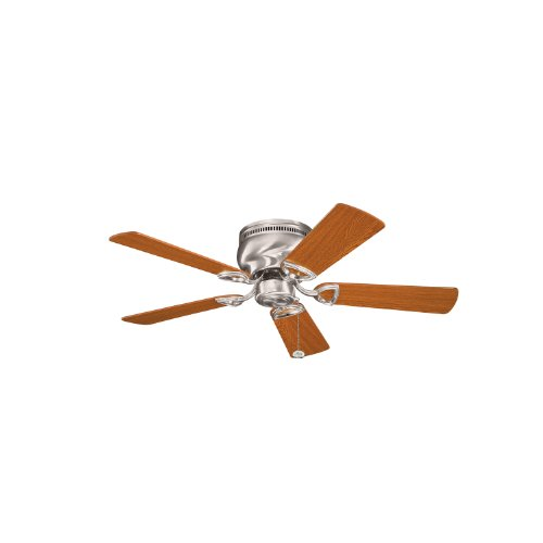 Kichler 339017BSS 42-Inch Stratmoor Fan, Brushed Stainless Steel from Kichler