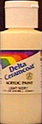 Delta Ceramcoat Light (Bulk Buy: Delta Ceramcoat Acrylic Paint 2 Ounces Light Chocolate/Opaque 2000-2022 (6-Pack))