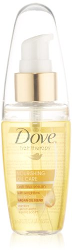 Dove Hair Therapy - Nourishing Oil Care Anti-Frizz Serum - A