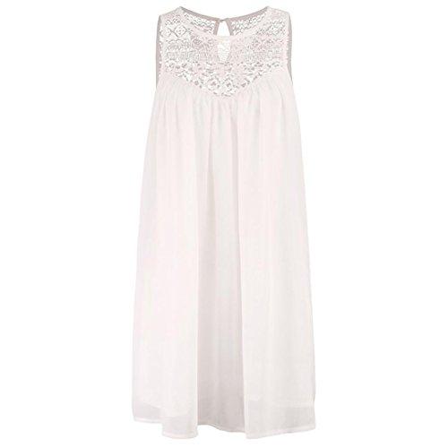 POLP Vestidos Largo ◉ω◉Sexy Vestidos Mujer Verano 2018 Casual Playa Falda Verano para Elegantes Tallas Grandes Vestidos, Fiesta Falda Espalda Abierta, ...