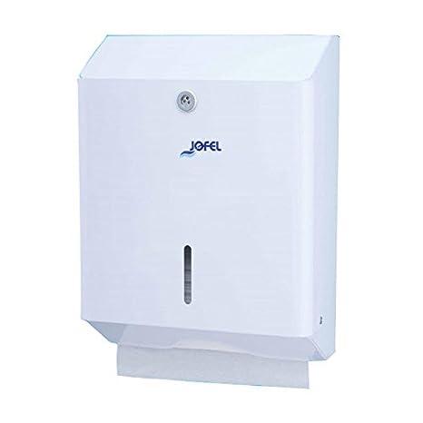 Jofel AH20000 Clásica Dispensador de Toallas de Manos, Zig-Zag, Blanco: Amazon.es: Industria, empresas y ciencia