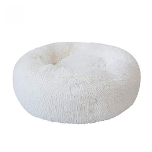 Weesey Haustierbett Hundebett Katzenbett Rundes Plüsch Hundesofa Katzensofa Kissen in Doughnut Form für Haustiere…