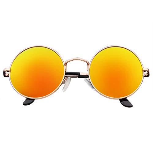 Round Shades Sunglasses - John Lennon Inspired Sunglasses Round Hippie