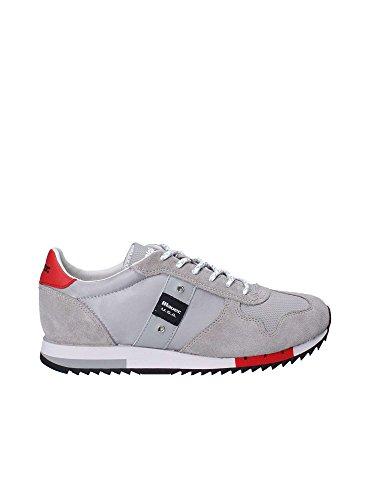 USA Blauer Sneakers Grey 8SQUINCY01 Grigio Uomo NYL Blu vqxCwdBx