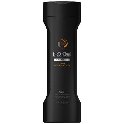 AXE Dark Temptation 2 in 1 Shampoo and Conditioner, Dark Tem