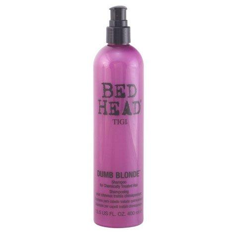 TIGI BED HEAD DUMB BLONDE Shampoo geschädete Haare 400 ml