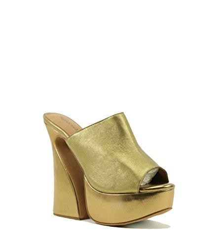 Jeffrey Campbell - Sandalias de vestir para mujer bronce