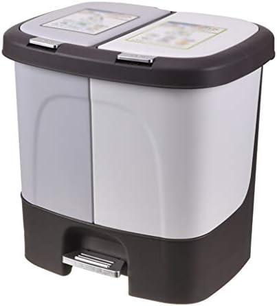 滑らかな表面 インナーバケツゴミ箱ホテルコーナー学校寮のゴミ容器30 * 38.5 * 37センチメートルと屋内リサイクルビン、 リサイクル可能なデザイン (Color : B, Size : 30*38.5*37CM)