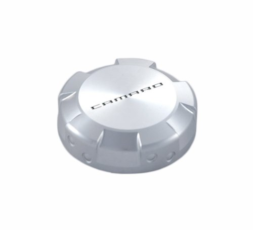 Drake Muscle Cars CA-120007-BL Clear Anodized Billet Power Steering Reservoir Cap for Chevrolet Camaro