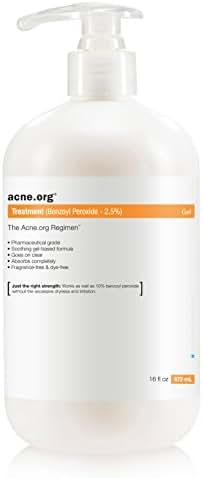Acne.org 16 oz. Treatment (2.5% Benzoyl Peroxide)