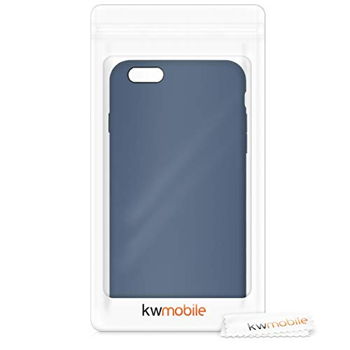 kwmobile TPU Silicone Case Compatible with Apple iPhone 6 Plus / 6S Plus - Soft Flexible Rubber Protective Cover - Lilac
