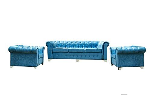 Phoenix sofas Chester 3+1+1 Sofa Set