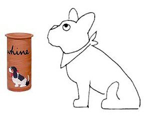 French Bulldog Whine Cooler