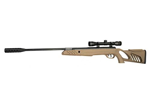 Swiss Arms TAC1 .22 Cal Break Barrel Pellet Rifle, Tan (Air Rifle Barrel Cal)