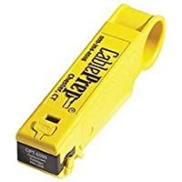 CablePrep Drop Stripping Tool, RG6/59 w/Stop, 1/4 x 1/4 Prep by CablePrep