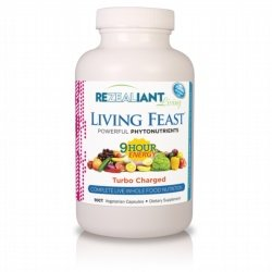 Amazon.com : ReZealiant Living Feast Turbo Charged 9-Hour Energy 180ct : Health Personal Care Vitamins Dietary Supplements Supplements : Beauty
