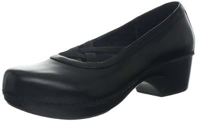 Dansko Women's Tilda Clog,Black,39 EU/8.5-9 M US