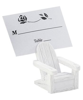 Beach Place Card Holders - Adirondack Chairs, 72