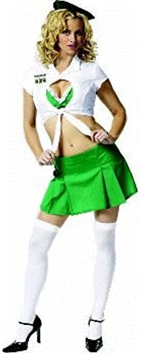 Amazon Com Sexy Girl Scout Troop 562 Adult Costume Size 2 4 X Small