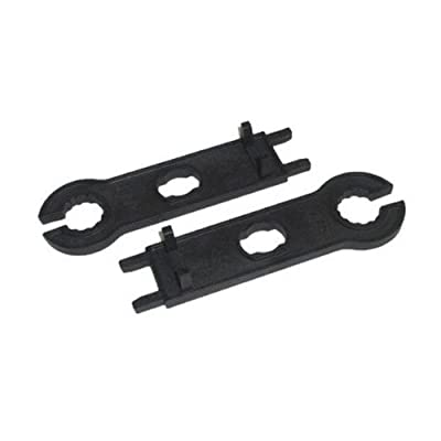 Multi-Contact MC4 Tool Assembly and Disassembly Tool Solar Panel Cable Crimping Tool for Male/Female MC4 Connectors Spanner (2pcs.)