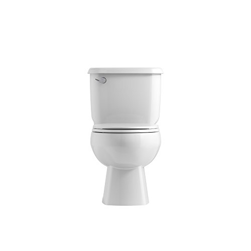 Kohler K 4775 0 Brevia With Quick Release Hinges Round