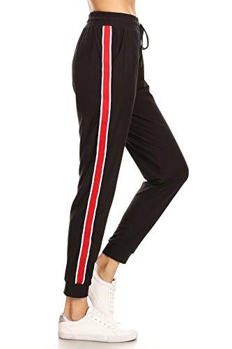 LA12ST Womens Rainbow Stripe Jogger product image