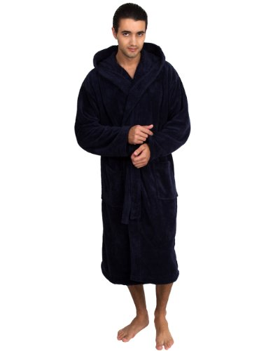 TowelSelections Fleece Hooded Bathrobe Turkey