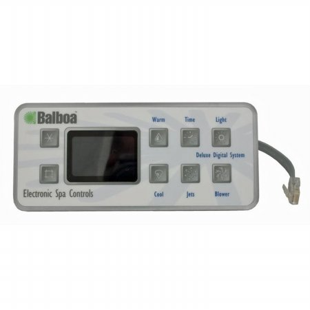 Deluxe Digital Spa (Balboa Water Group 51058-01 Deluxe Digital 8-button Led Topside Control)