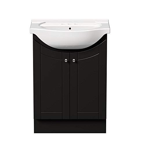 Contemporary Bath Vanity Sink Wood - Magick Woods Eurostone 24