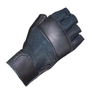 Anti-Vibration Gloves, Leather, L, Right