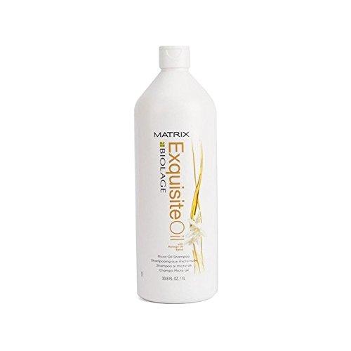 マトリックスバイオレイジ絶妙な油マイクロオイルシャンプー(千ミリリットル) x4 - Matrix Biolage Exquisite Oil Micro-Oil Shampoo (1000ml) (Pack of 4) [並行輸入品]   B07116YNBJ