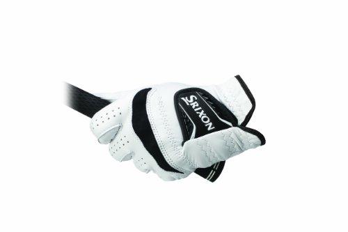 Srixon Men's Cabretta Leather Regular Golf Glove, Small, Worn on Right Hand